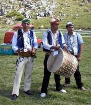 Traditional Drummers in Macedonia (photo: Judith Rasson)